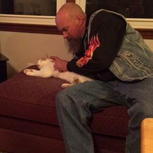 cat with cat dad